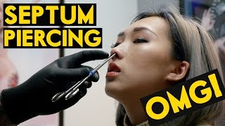 One of IAMKARENO's most viewed videos: OMG! Septum Piercing | DOES IT HURT?!?