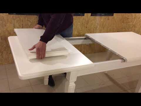 Как раздвинуть кухонный стол видео