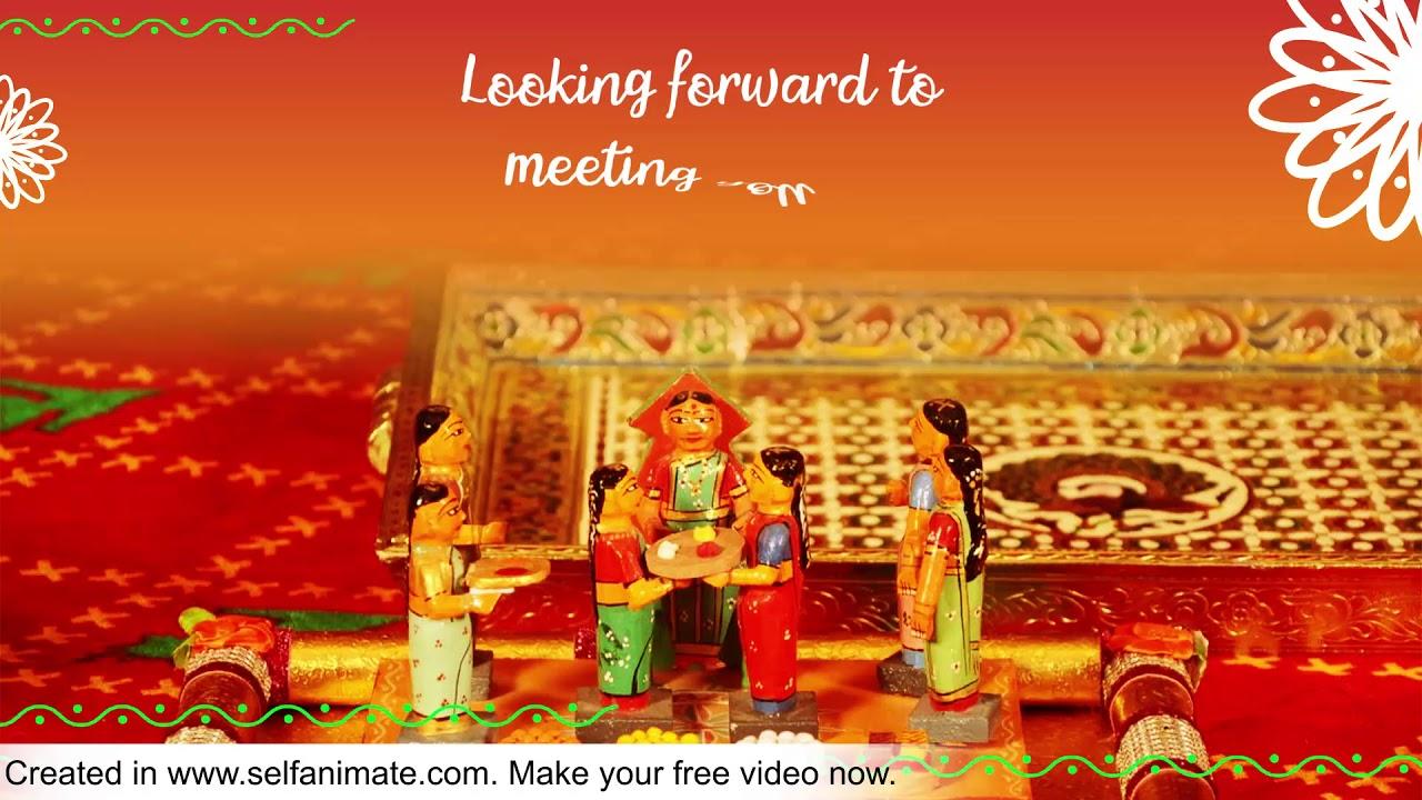 Golu Invitation
