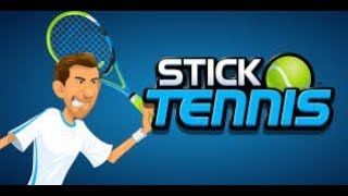 The most boring video ever!!!(Stick Tennis)