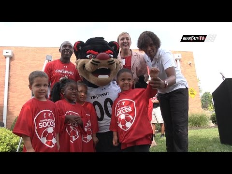 Cincinnati Bearcats and YMCA Partnership Announcement