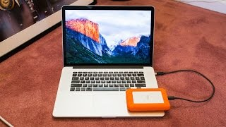 How to download and install OS X El Capitan on an external hard drive