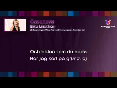 "Elisa Lindström - ""Casanova"" (Karaoke version)"