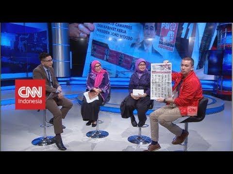 Debat seru PSI - BAWASLU soal Curi Start Kampanye   CNN Layar Pemilu Tepercaya