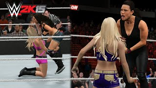 WWE 2K15 PC - Every Diva Performing The Low Blow