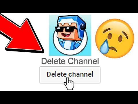 DELETING MY YOUTUBE CHANNEL!