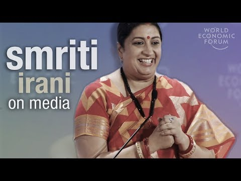 Minister Smriti Irani: Give Audiences What They Want