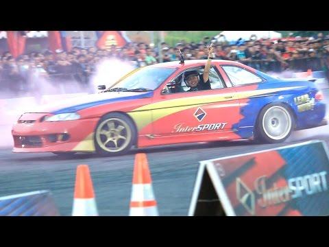 slalom  Drift Race Car Ekstreme 2015 at maguwoharjo Yogyakarta