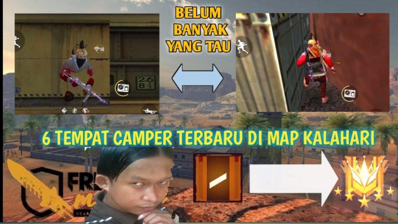 PALING AMAN! TEMPAT CAMPER MAP KALAHARI YANG BELUM BANYAK TAU!!! 6 TEMPAT CAMPER KALAHARI