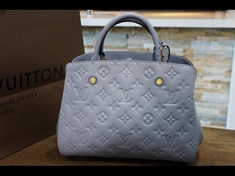Unboxing  Louis Vuitton Montaigne bb Empreinte - YouTube 6c0dd7c861651