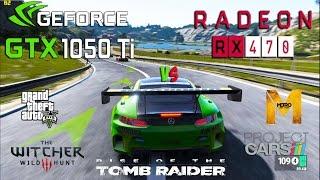 GTX 1050 Ti vs RX 470 Test in 5 Games (i5 4690k)