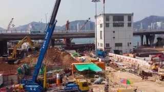150416 沙中線紅磡站建造工程