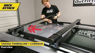 Yakima TimberLine Core Bar Base Roof Rack Install and Review(Rack Outfitters - Car Racks - Cargo Solutions - Since 2002 - Austin, TX -- Hours: 10AM-6PM CT Mon-Sat Local: 512-441-RACK (7225) Toll Free: 866-441-RACK ..., 2016-03-04T19:37:04.000Z)
