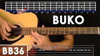 Buko - Jireh Lim Guitar Tutorial (includes intro lead and rhythm)