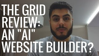 The Grid Website Builder Review: Stupid Artificial Intelligence