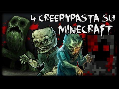 4 Creepypasta che forse non sai su MINECRAFT w/ Matteofire97 e Re di Pixel