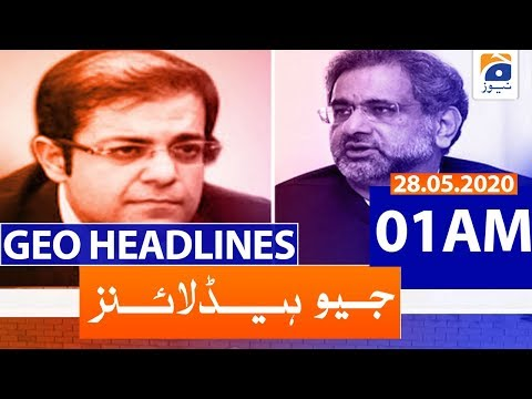 Geo Headlines 01 AM | 28th May 2020