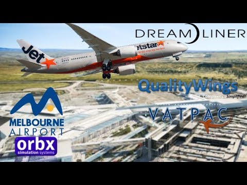 Qualitywings 787-8 Runs some Milk  YMML - YSSY on Vatsim
