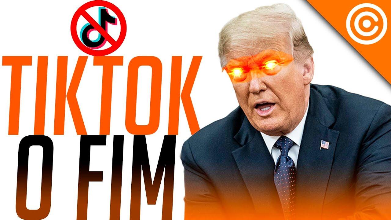 Trump ASSINOU ordem executiva para BANIR TikTok