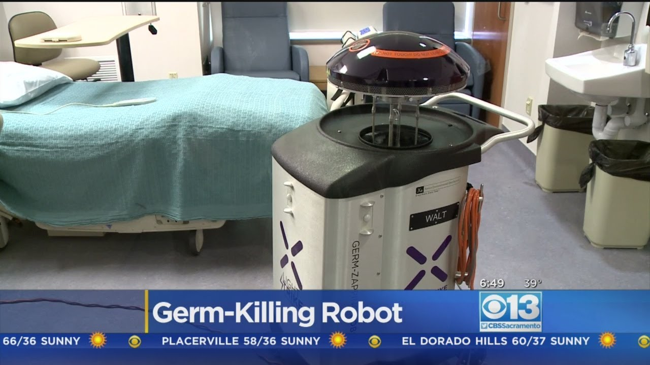 Germ-Zapping Robot Being Put To Use At Sacramento-Area Hospital
