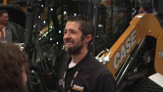 Video still for Case Press Conference at World of Concrete