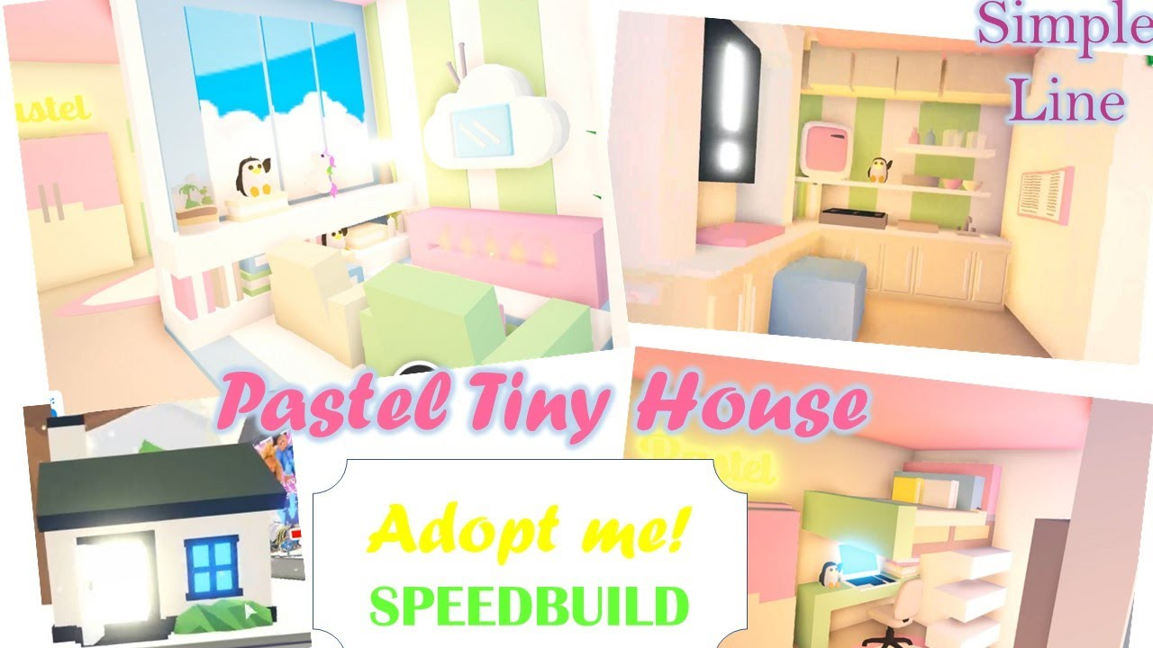 Download Pastel Tiny House Speedbuild Adopt Me Adopt Me