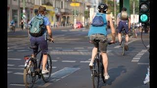 Mitschnitt: Radfahren wird immer beliebter