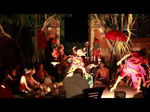 Balinese dance performance at Langit Theater, AYANA Resort and Spa Bali