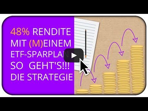 48% Rendite mit (m)einem ETF Sparplan? So gehts! Mein Depot  📊