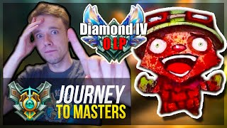 YOU'RE NOT READY TO SEE THIS.. - Journey To Masters #13 - League of Legends