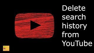 How to delete search history from YouTube