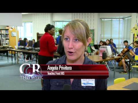 Robert Frost Middle School Blue Ribbon School Award Ceremony