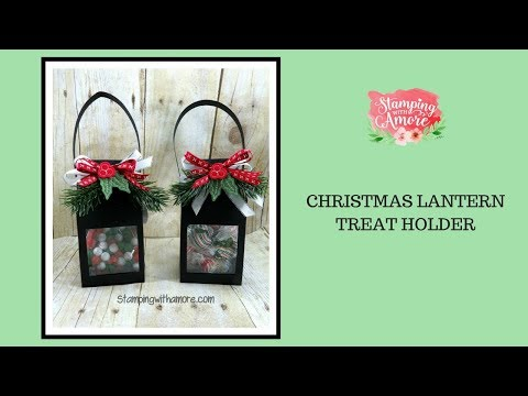 Christmas Lantern Treat Holder