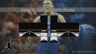 ROBLOX: How to make drawn shoes | Part 1