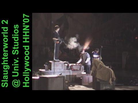 Slaughterworld 2 @ USH HHN'07 (Halloween Horror Nights 2007, Universal Studios Hollywood) [1080p DS]