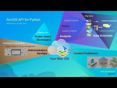 ArcGIS API for Python: Advanced Scripting