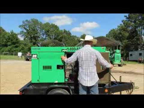 For Sale 2007 Multiquip DCA-25SSIU2 20kW Towable Generator Genset  bidadoo com