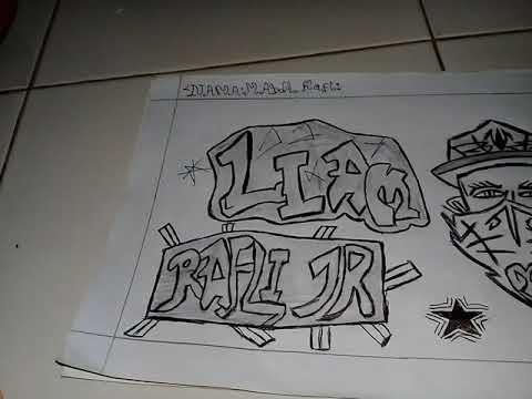 Grafiti Keren Rafli