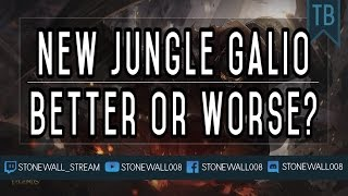 New Jungle Galio: Better Or Worse?
