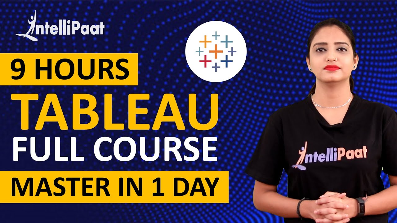 Tableau Training | Tableau Training for Beginners | Intellipaat