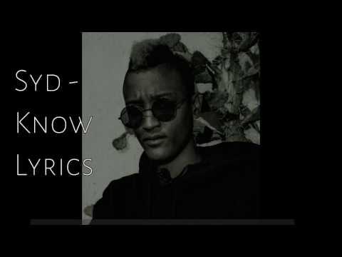 Syd - Know Lyrics