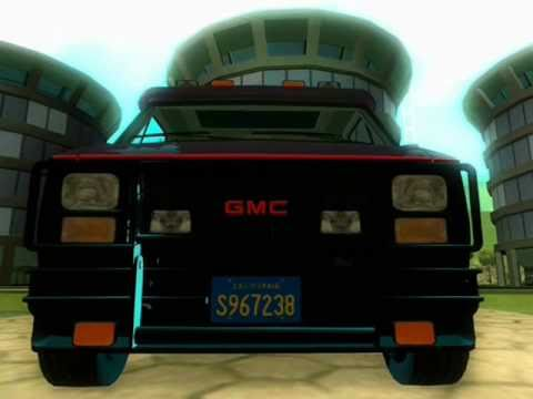 GTA San Andreas The A TEAM Van Mod Peds