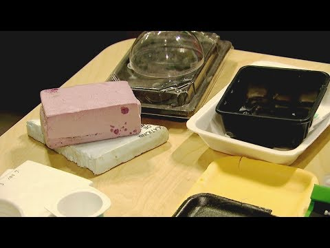 Startup finds way to recycle Styrofoam