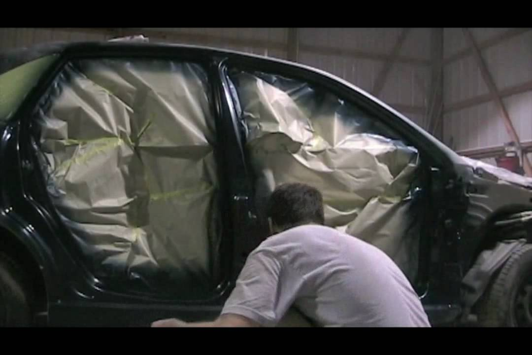 How To Paint Or Quot Trim Out Quot The Doors Of Your Car Before