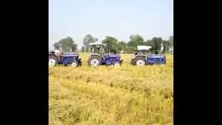 FARMTRAC 60 +60+60 PULLING BIG TRALA
