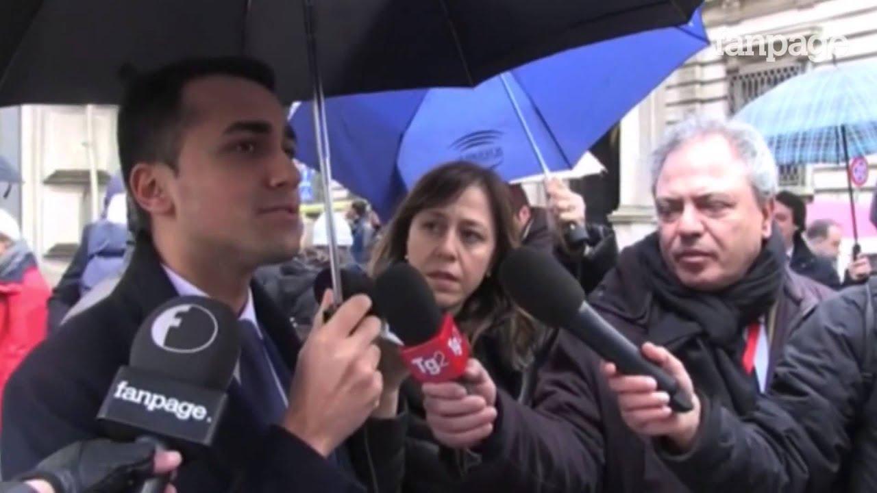 Il discorso di Mattarella, Di Maio: