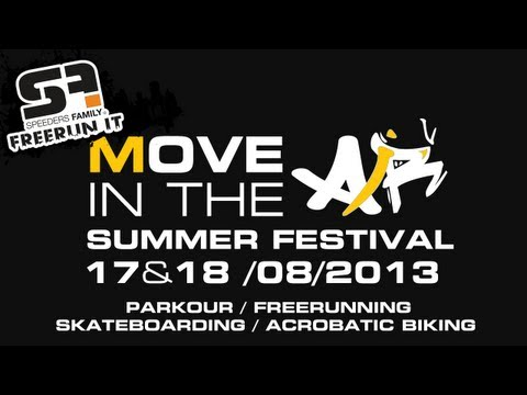 Move In The Air - Outdoor Summer Belgium Event