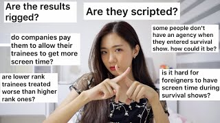 Kpop Survival Audition Shows are rigged and scripted? |IDOL INSIDER 🔍