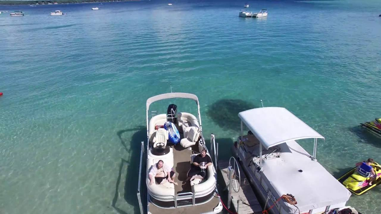 Treasure Island Roscommon Michigan On Higgins Lake 4k Doovi