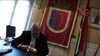 XVI Jornadas Gastronómicas de la Verdura, saludo del alcalde Javier Pagola